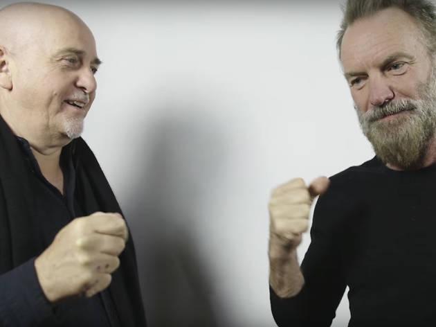 Sting + Peter Gabriel
