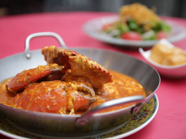 Choose your crab flavour...