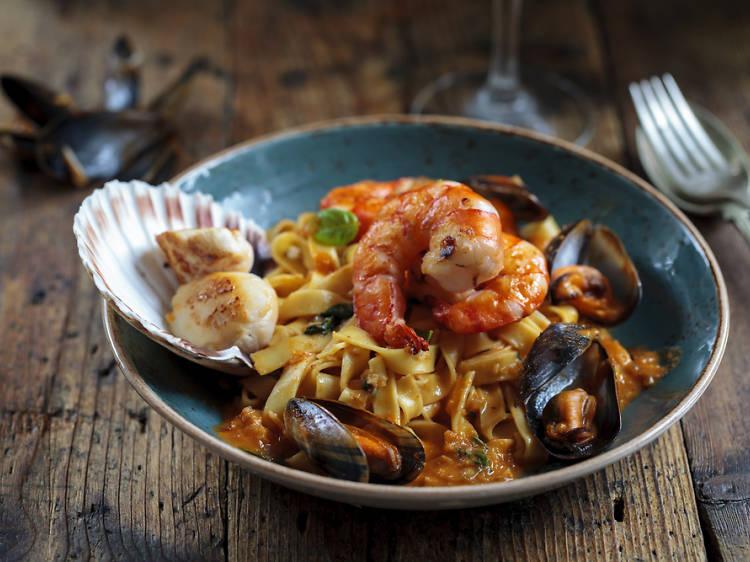 Tastar la millor cuina marinera