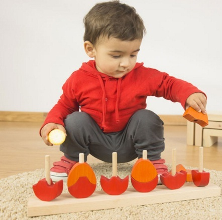 Tell fusta: piles per a la imaginació