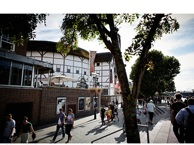 Shakespeare's Globe Theatre (© John Wildgoose)