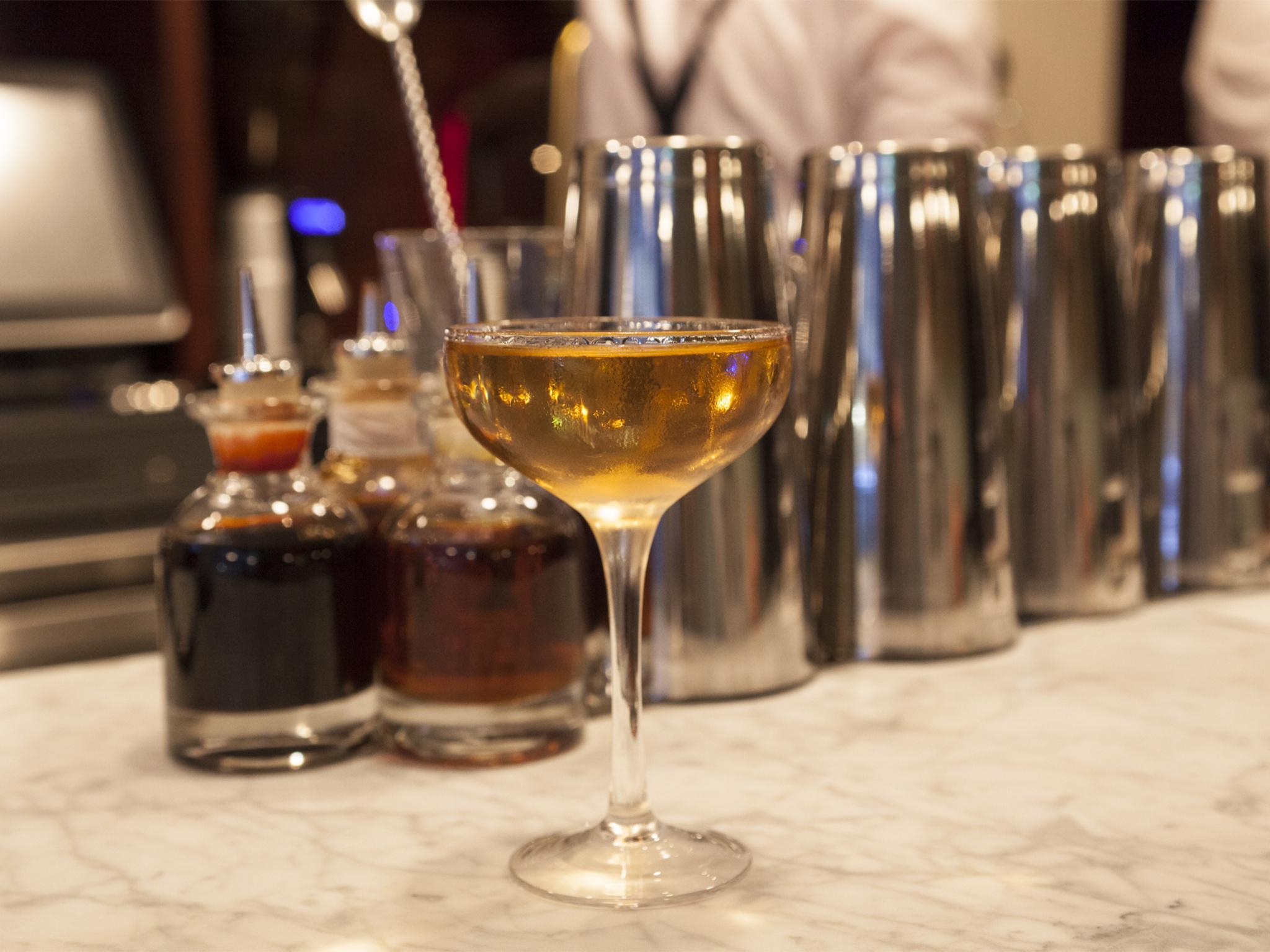 best martinis in london, bar termini
