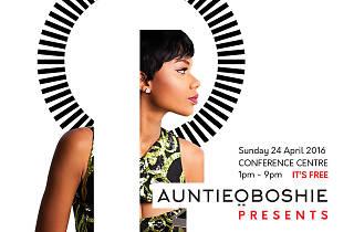 Auntie Oboshie Presents,International Conference Centre,Accra/Ghana