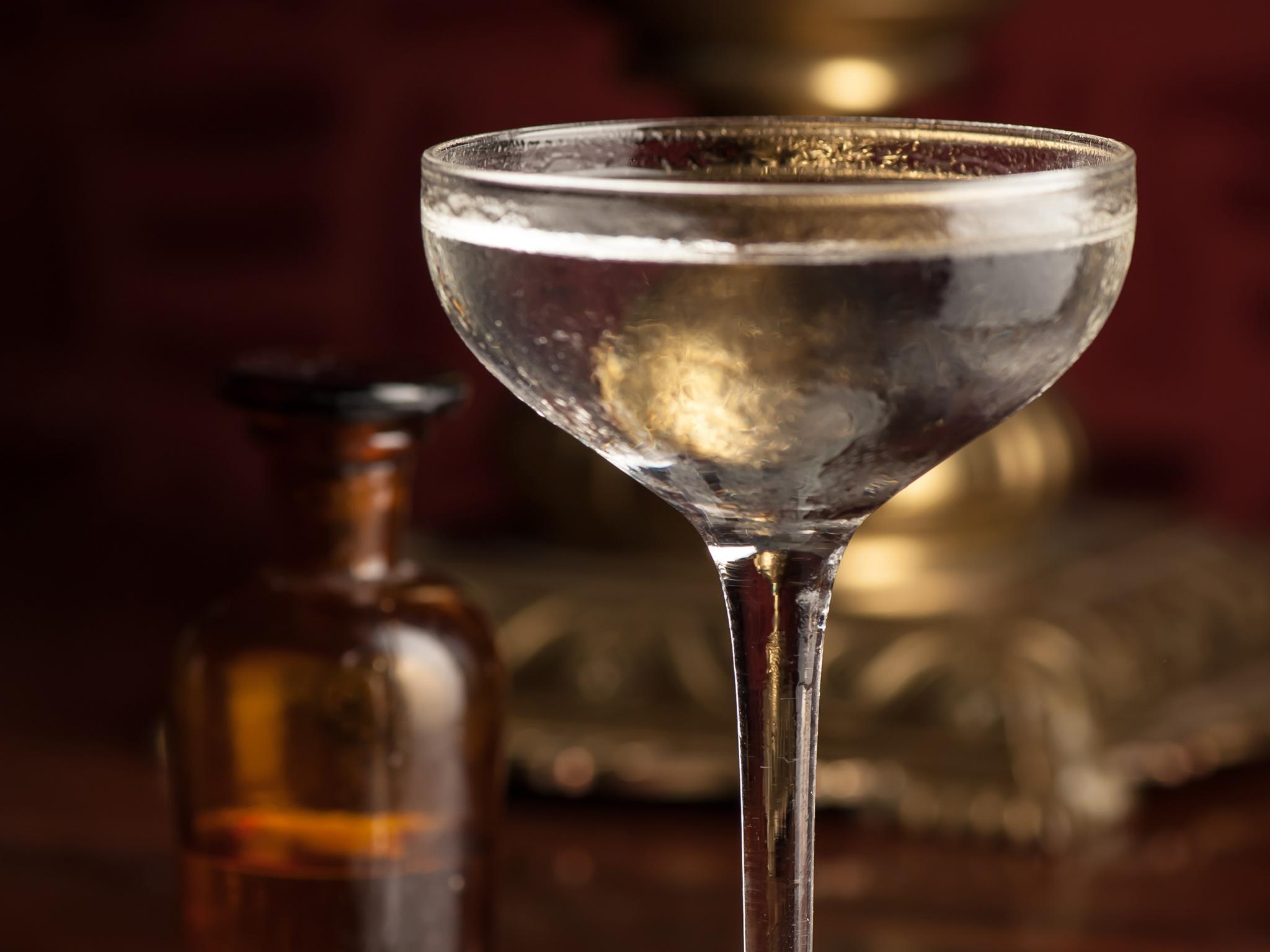 best martinis in london, zetter townhouse