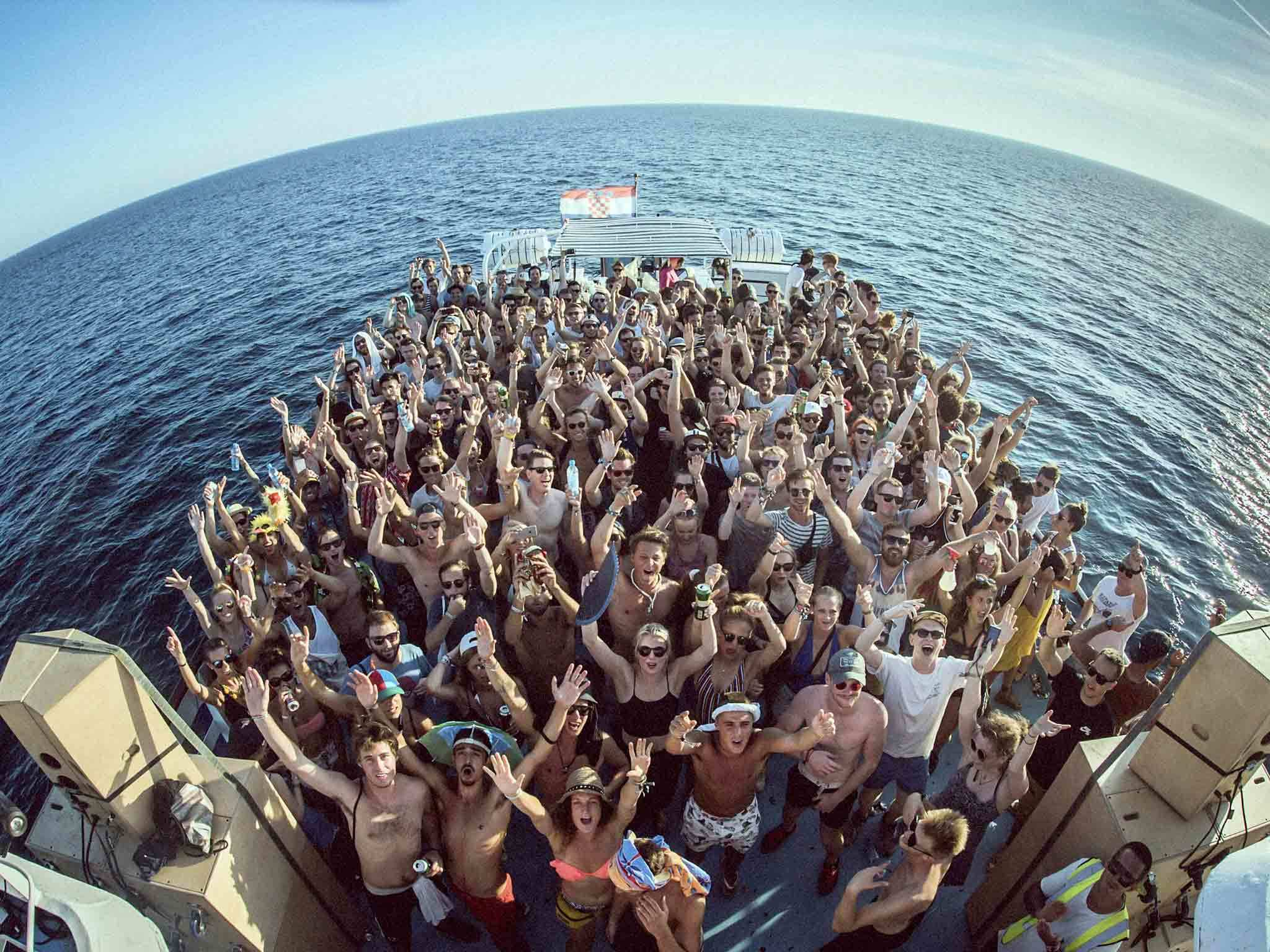 How Croatian festivals nail a good boat party