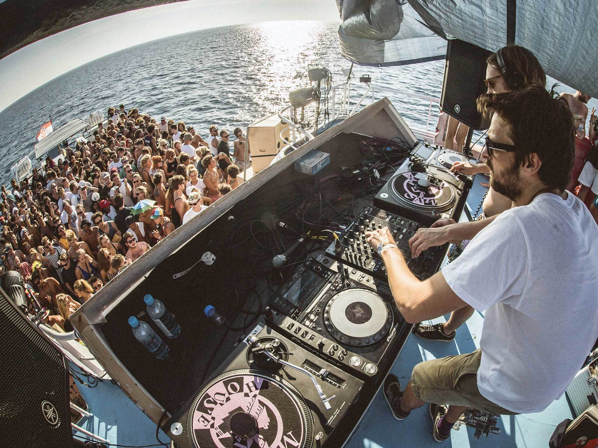 The best boat parties in Croatia, Dimensions