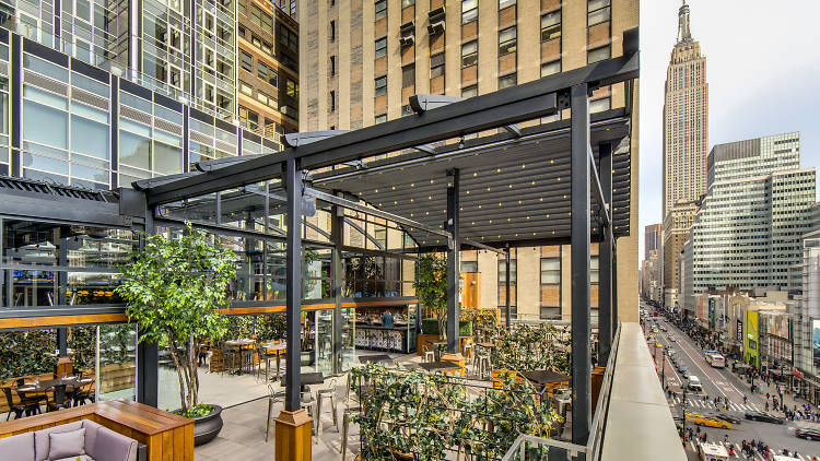 Four new NYC rooftop bars to drink at this spring