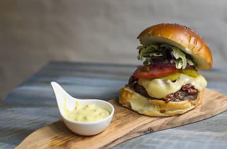 Great American Burger at The Burgary