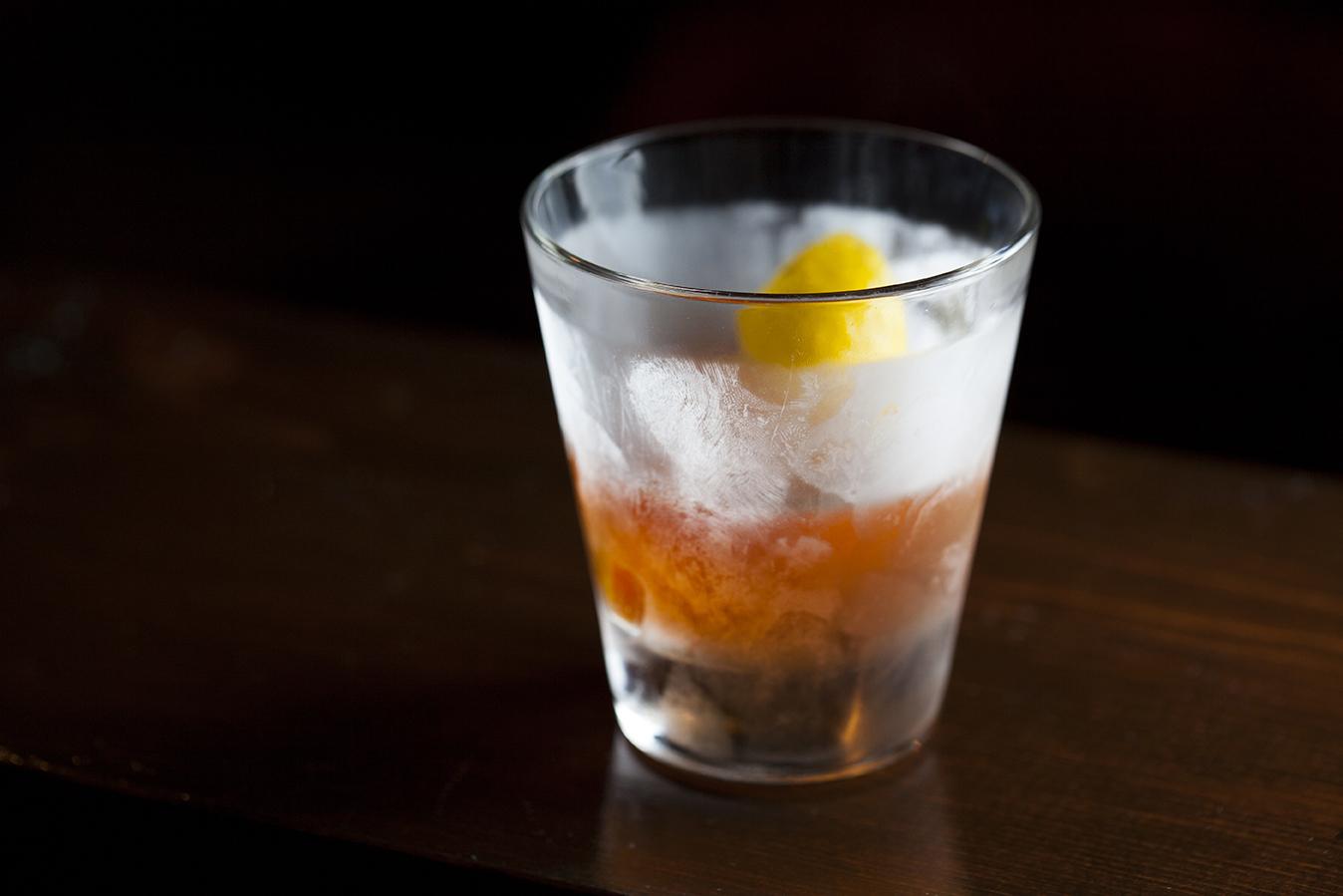 Cognac Sazerac at the Varnish