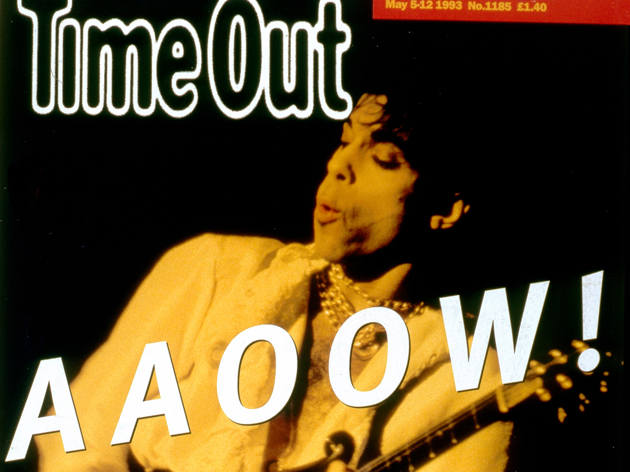 Prince: legend, icon, Time Out cover star