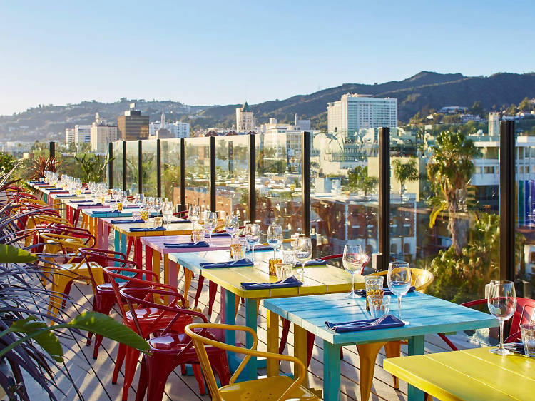 The best rooftop bars in L.A.