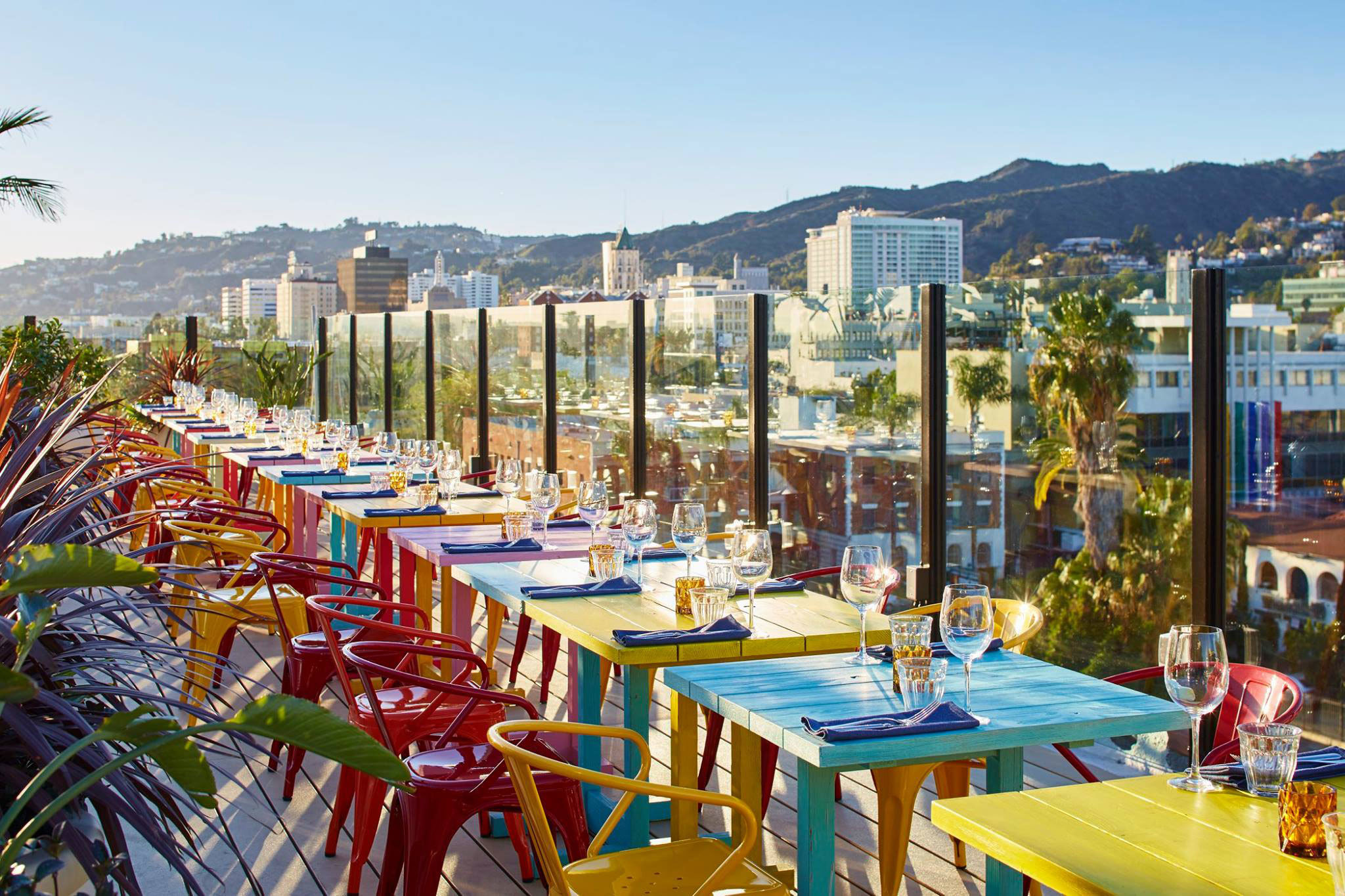 L.A.'s best rooftop bars