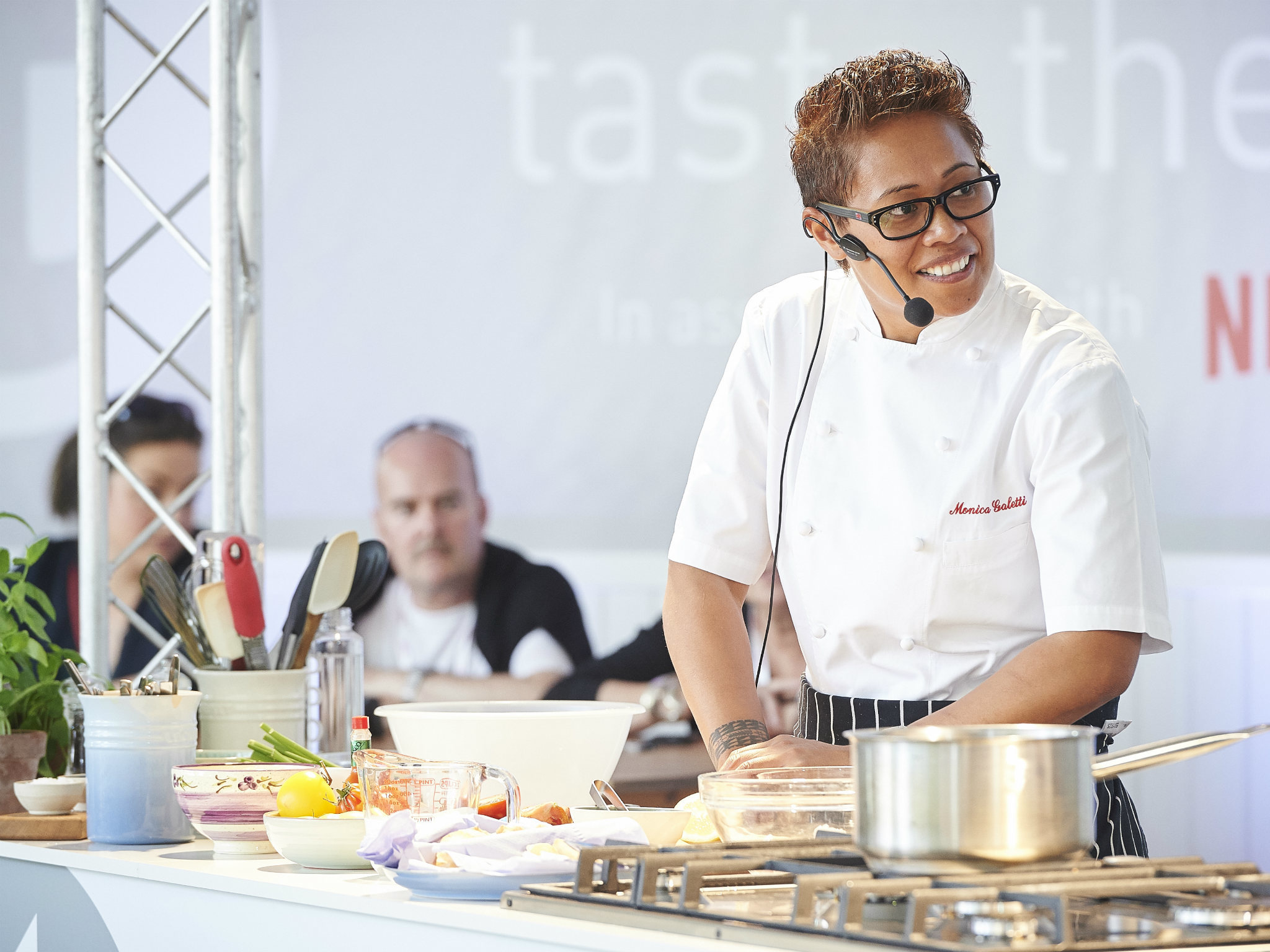 Star chefs at Taste of London