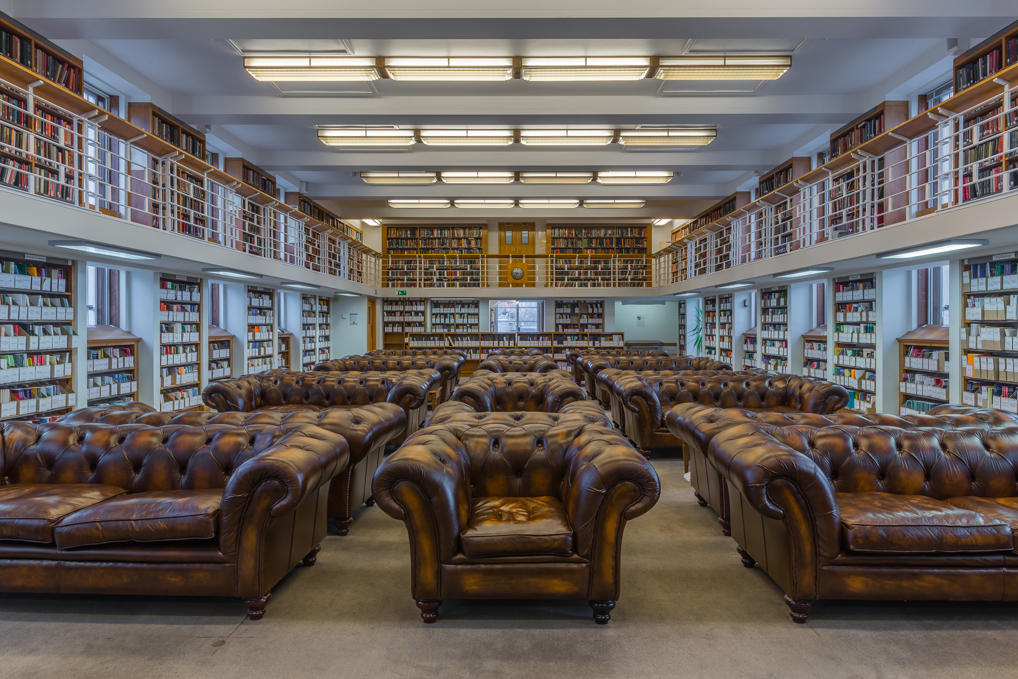 Senate House reading room