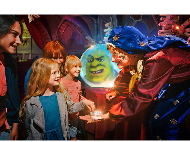 Discover what the green ogre did next at Shrek's Adventure