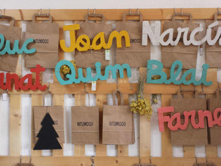 Noms de fusta de Nituwood: 'Handmade' in Costa Brava