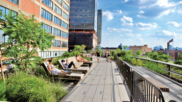 10 amazing free things you can do on the High Line this summer
