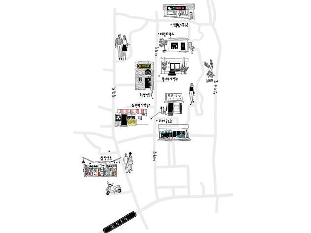 계동 지도
