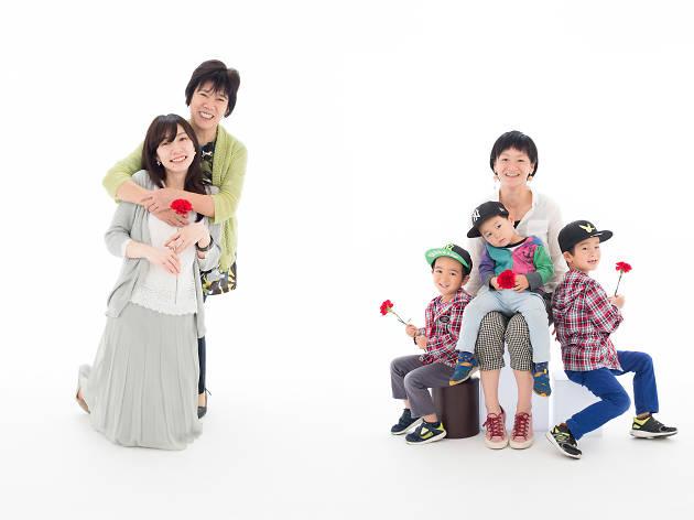 平間写真館TOKYO 母の日撮影会