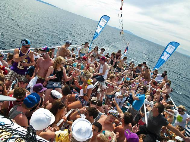 The best boat parties in Croatia, hideout