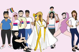 Taller de viñetas y perspectiva de género