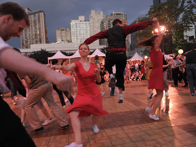 The full lineup for Midsummer Night Swing at Lincoln Center