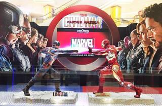 'Captain America: Civil War' experience