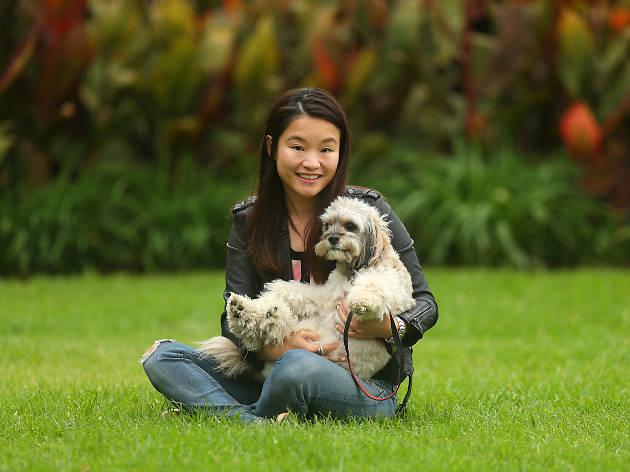 Dog Lover: Ruby Lee