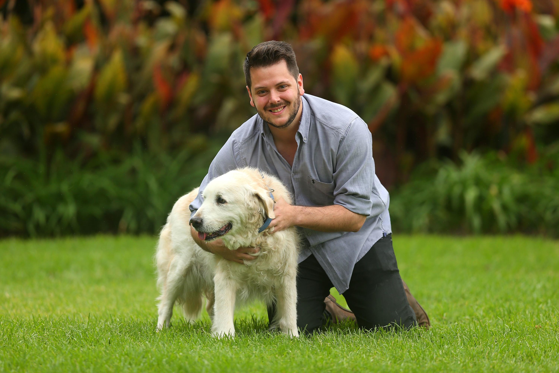 Dog Lover: Jamie Woolway