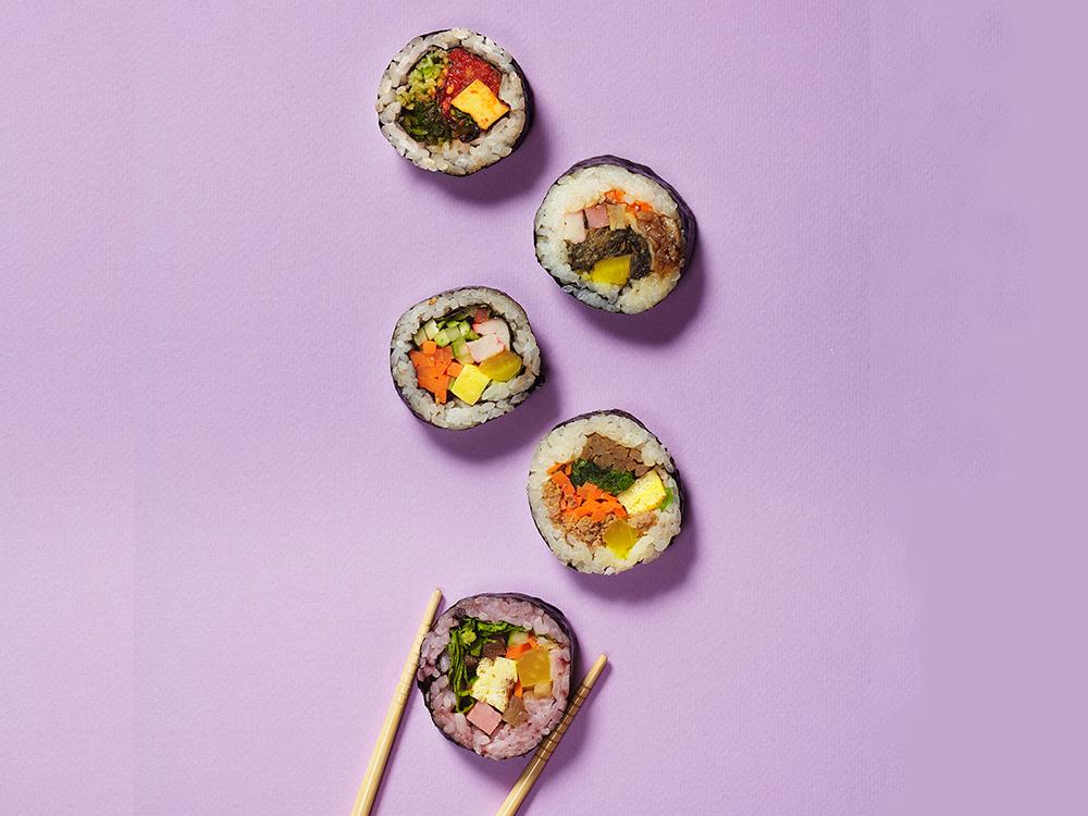 우리가 사랑하는 '싼 음식!', 김밥