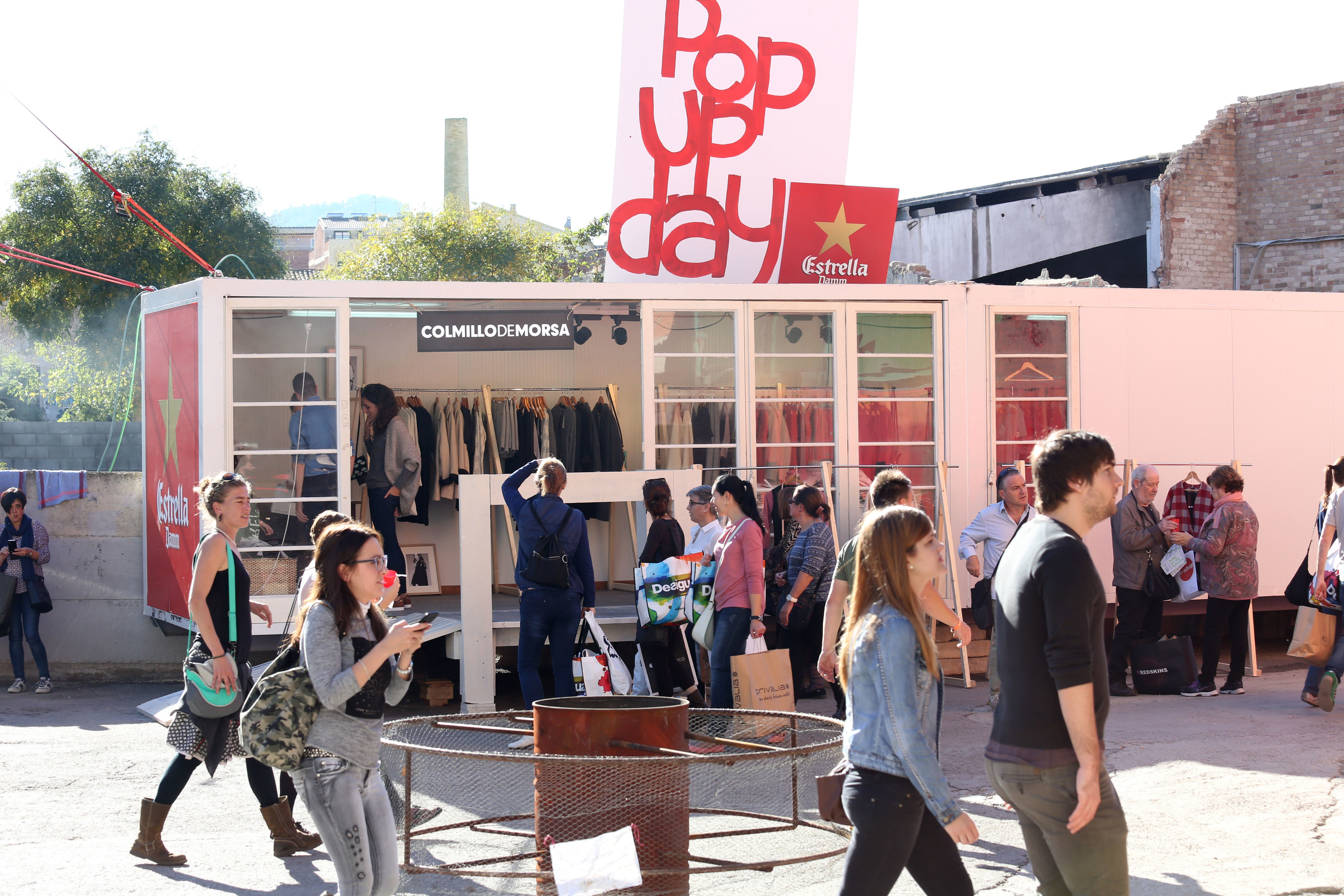 Rec pop up day by Estrella Damm