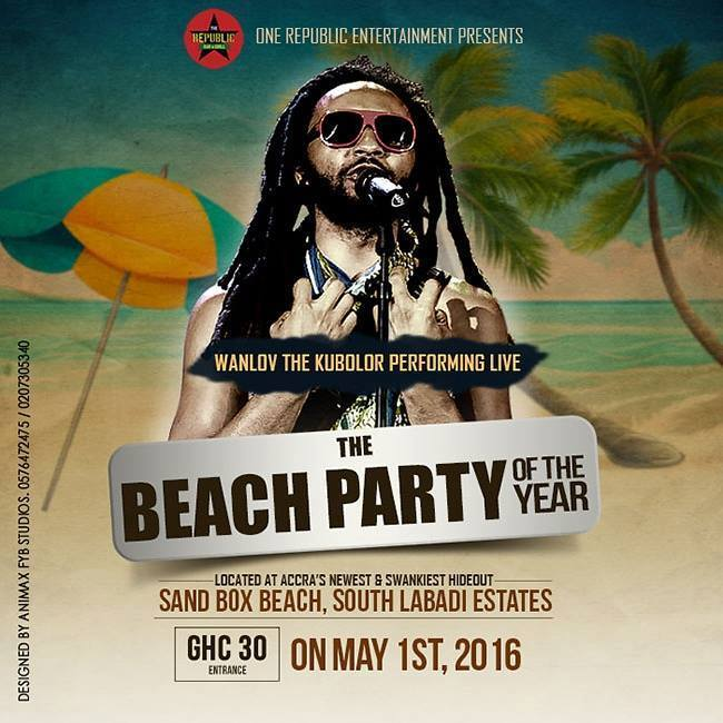Republic Bar Beach Party