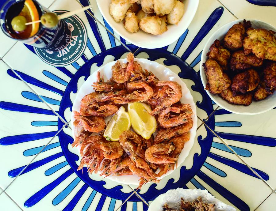 Croquetes, peixet, tempura...