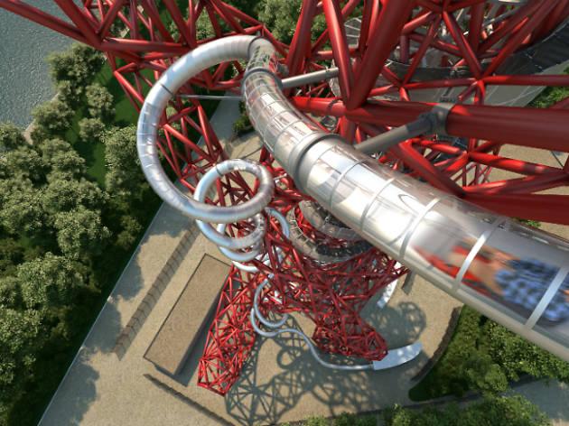 ArcelorMittal Orbit slide CGI, press 2016