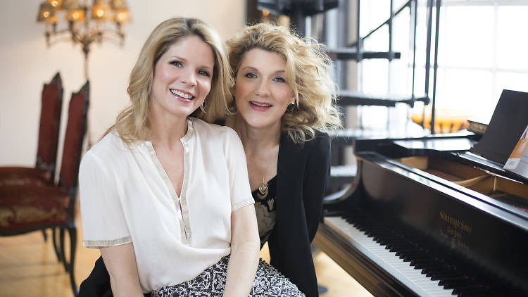 Kelli O'Hara and Victoria Clark