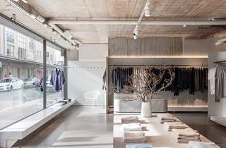 Interior shot of store