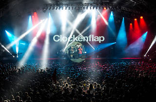 Clockenflap 2014 Tenacious D on stage