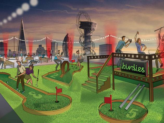 Birdies Crazy Golf Club