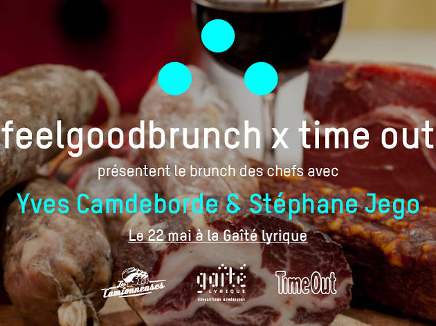 Feelgoodbrunch X Time Out : Yves Camdeborde & Stéphane Jégo