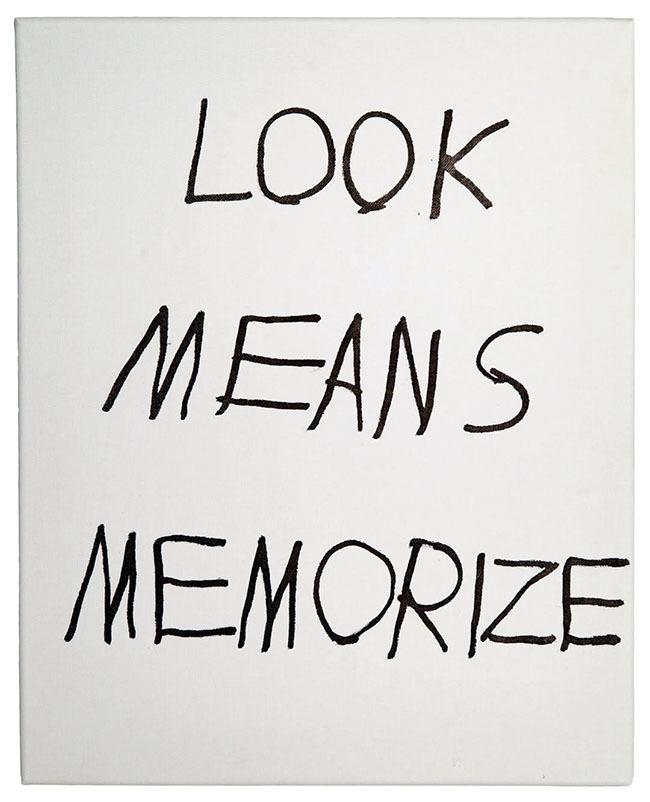"""Jim Joe, """"Look Means Memorize"""""""