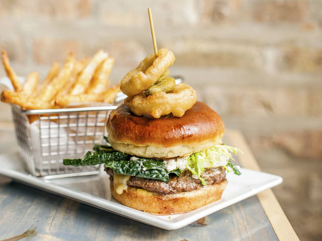 House Burger at Catalpa Kitchen