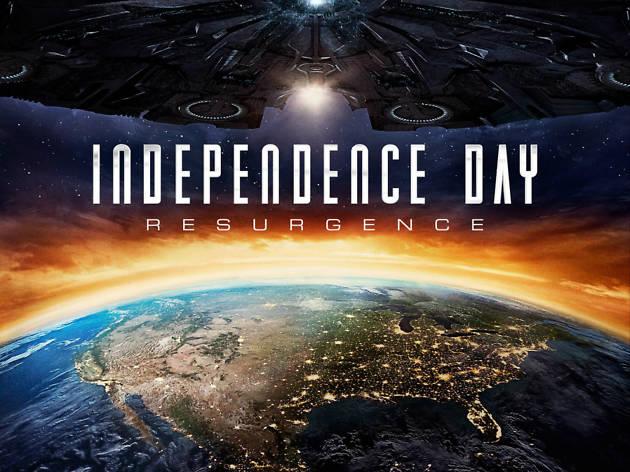 El día de la independencia: Contraataque