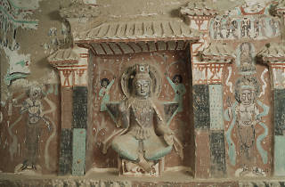 Mogao Grottoes: Cave 275, Northern Liang, 420 - 439 CE