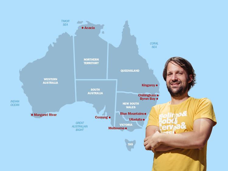 René Redzepi's Australia on a plate