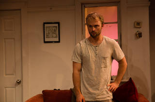 Belleville 2016 Old Fitz Theatre production image 04 feat Josh Anderson credit Kate Williams