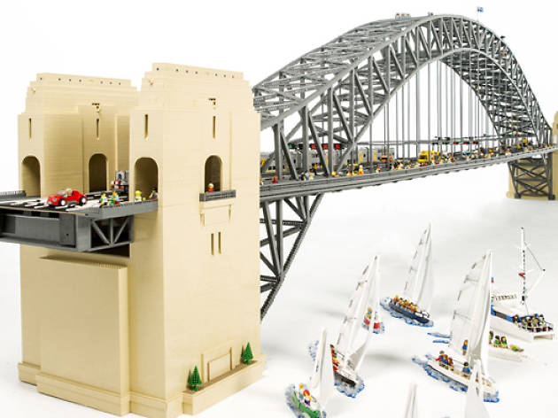 Sydney Harbour Icons with LEGO Bricks