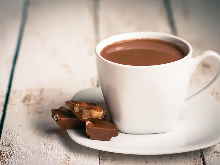 Fer una xocolata amb melindros