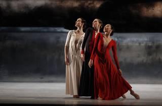 Vitesse 2016 The Australian Ballet production image 02 Forgotten Land feat Amber Scott Lana Jones and Karen Nanasca photographer credit Jeff Busby