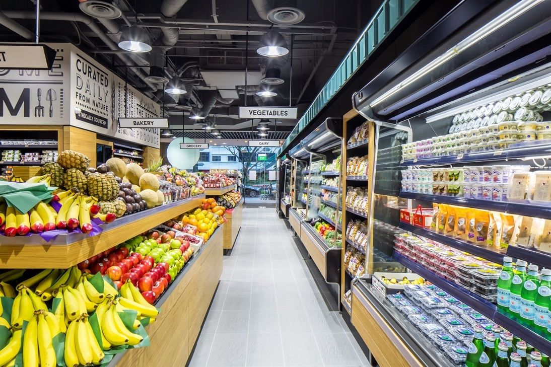 Five organic supermarkets in Singapore