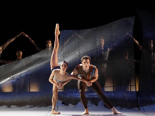 Vitesse 2016 The Australian Ballet production image 07 DVG Danse a Grande Vitesse feat Kevin Jackson and Robyn Hendricks photographer credit Jeff Busby